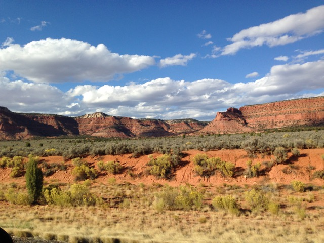 Parrot-Colored Canyons, Winged Women